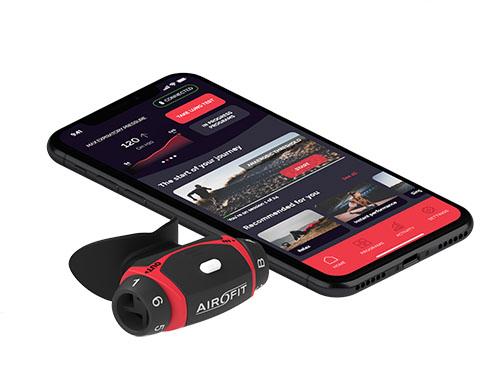 Airofit z mobilno aplikacijo